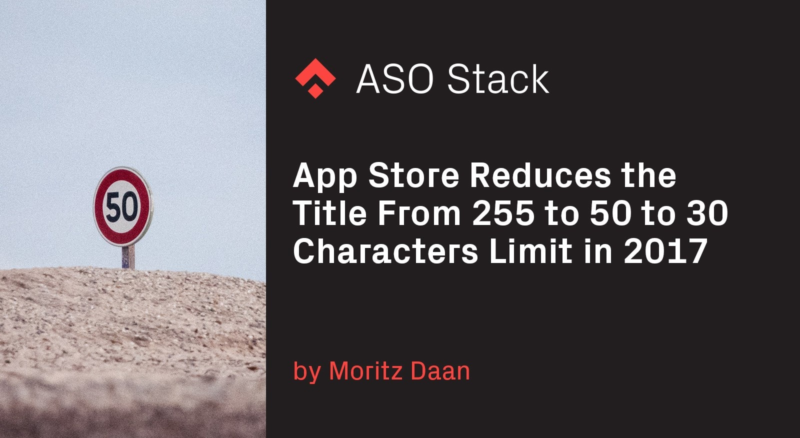 App Store reduces the title from 255 to 50 to 30 characters limit in 2017