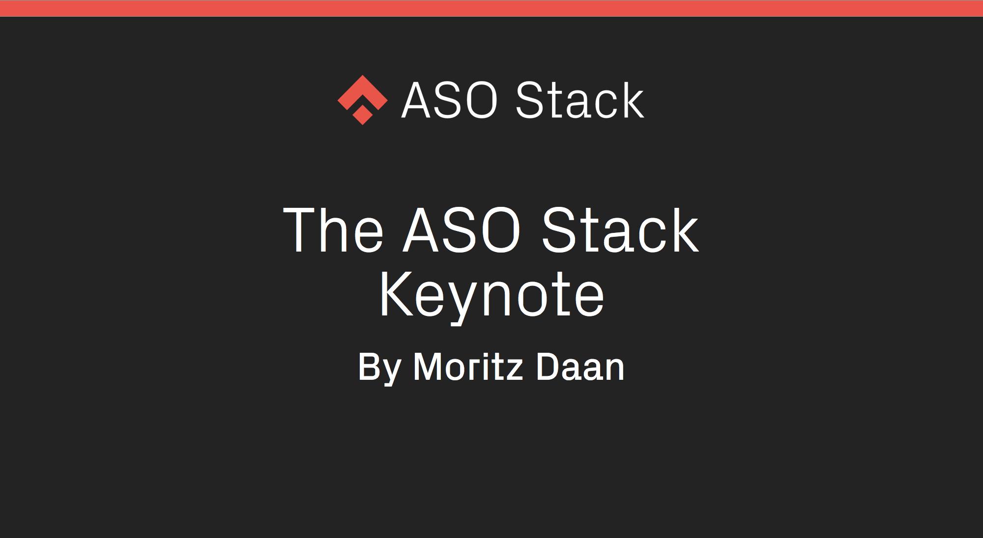 The ASO Stack Keynote-min