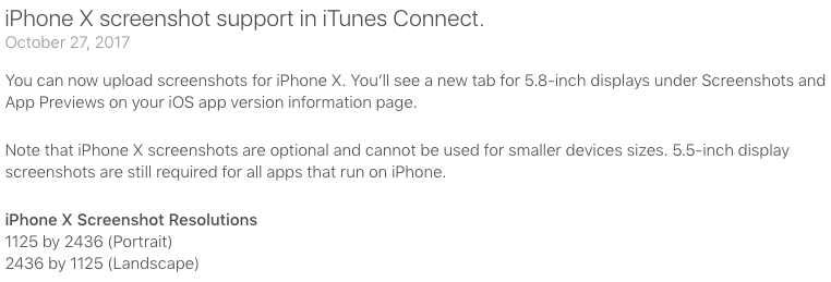 iphone X screenshot support in itunes connect-min