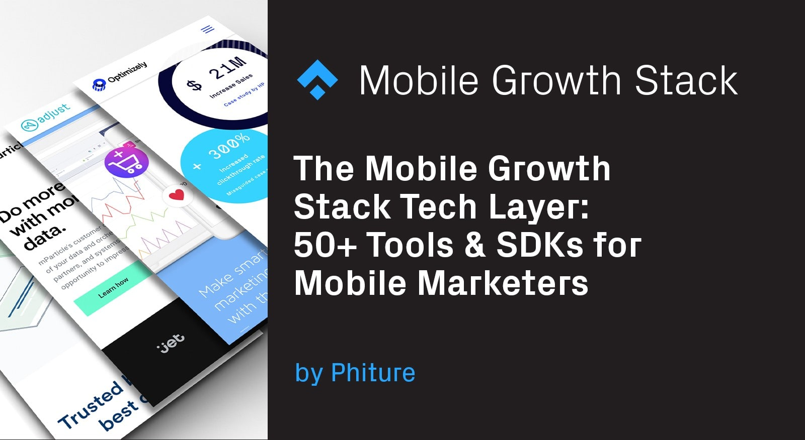 The Mobile Growth Stack Tech Layer- 50+ Tools & SDKs for Mobile Marketers