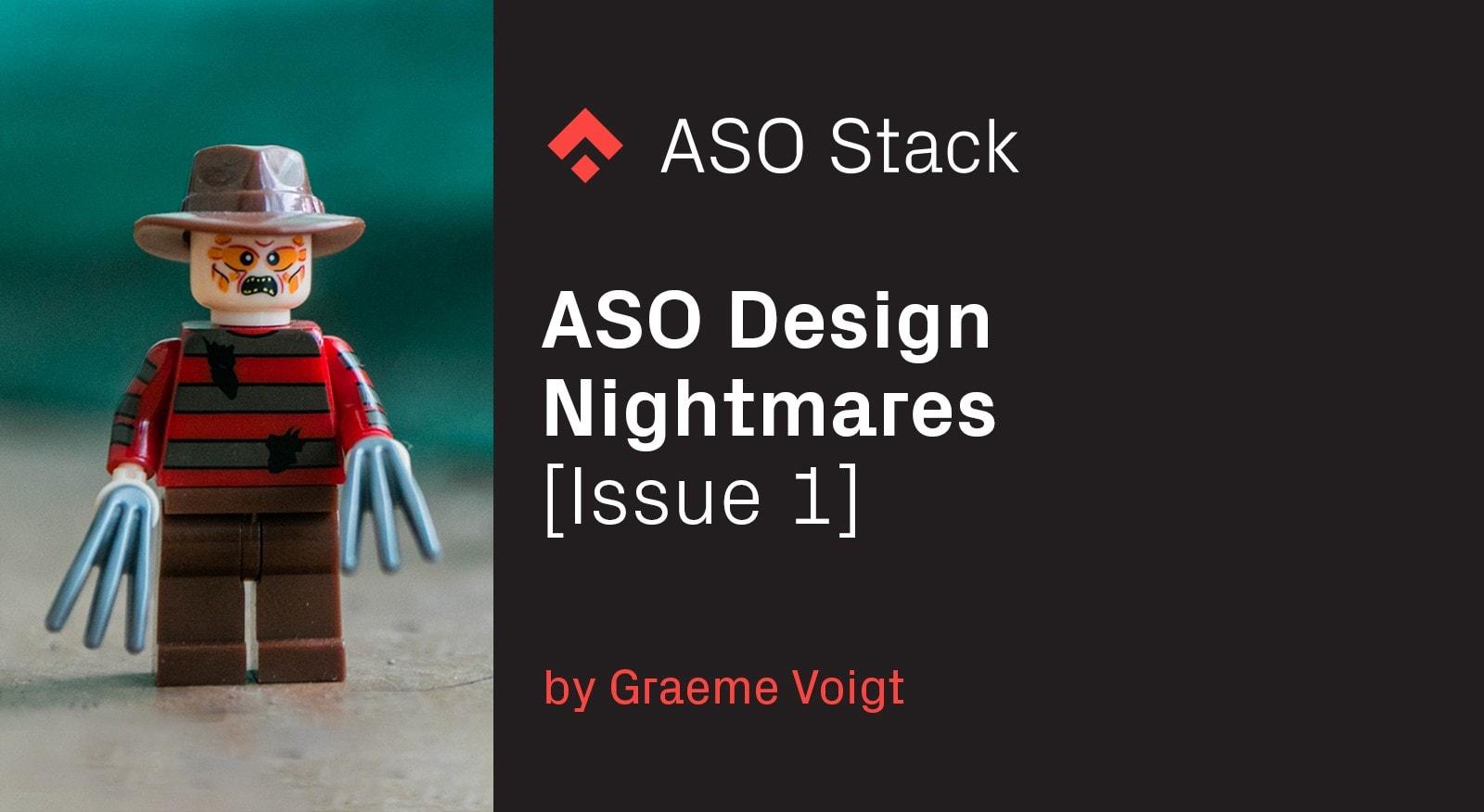 ASO Design Nightmares