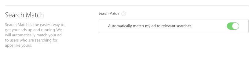 search match