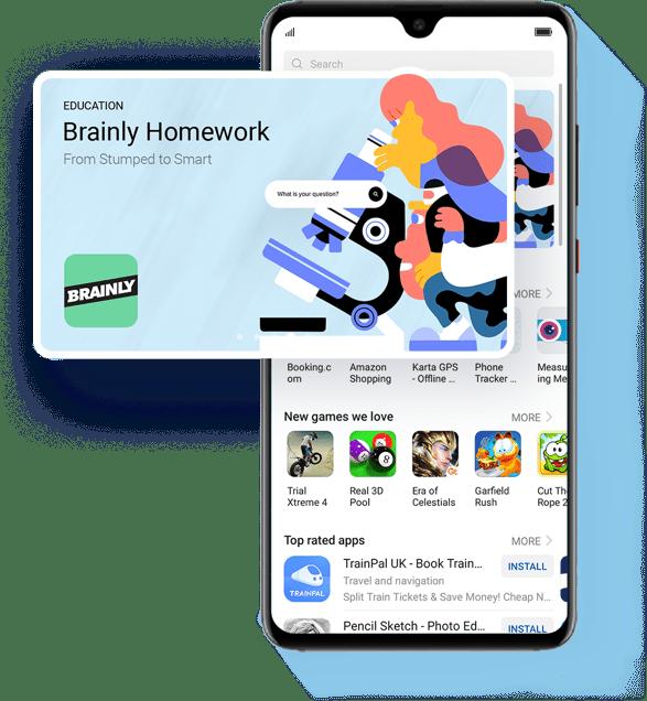 huawei self-developed app store