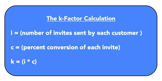 k-factor calculation example