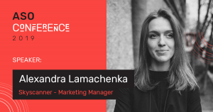 Alexandra Lamachenka — Marketing Manager, Skyscanner