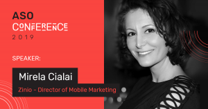 Mirela Cialai — Director of Mobile Marketing, Zinio