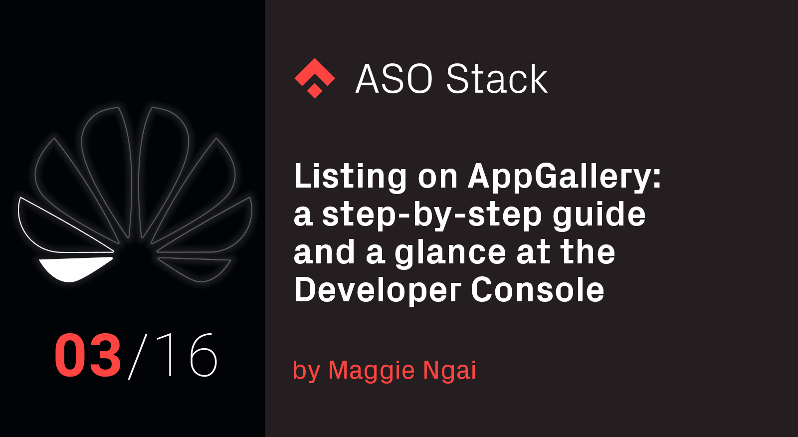 Listing on AppGallery- A step-by-step guide and a glance at the Developer Console
