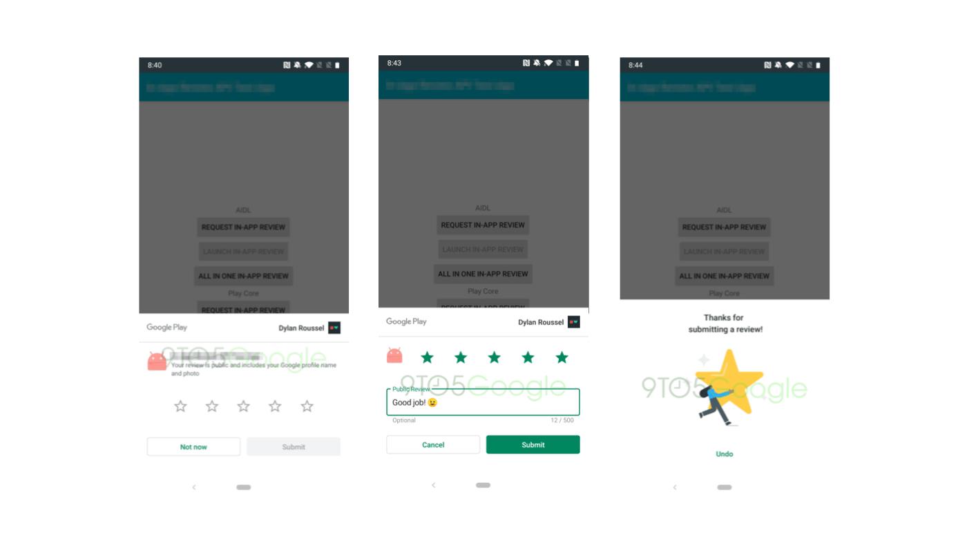 google simpler review process