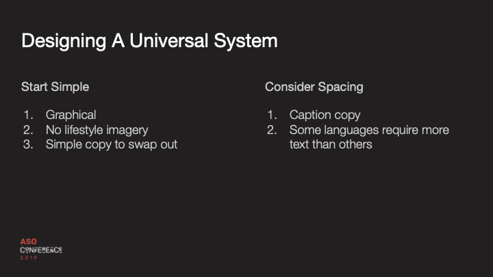 designing a universal system