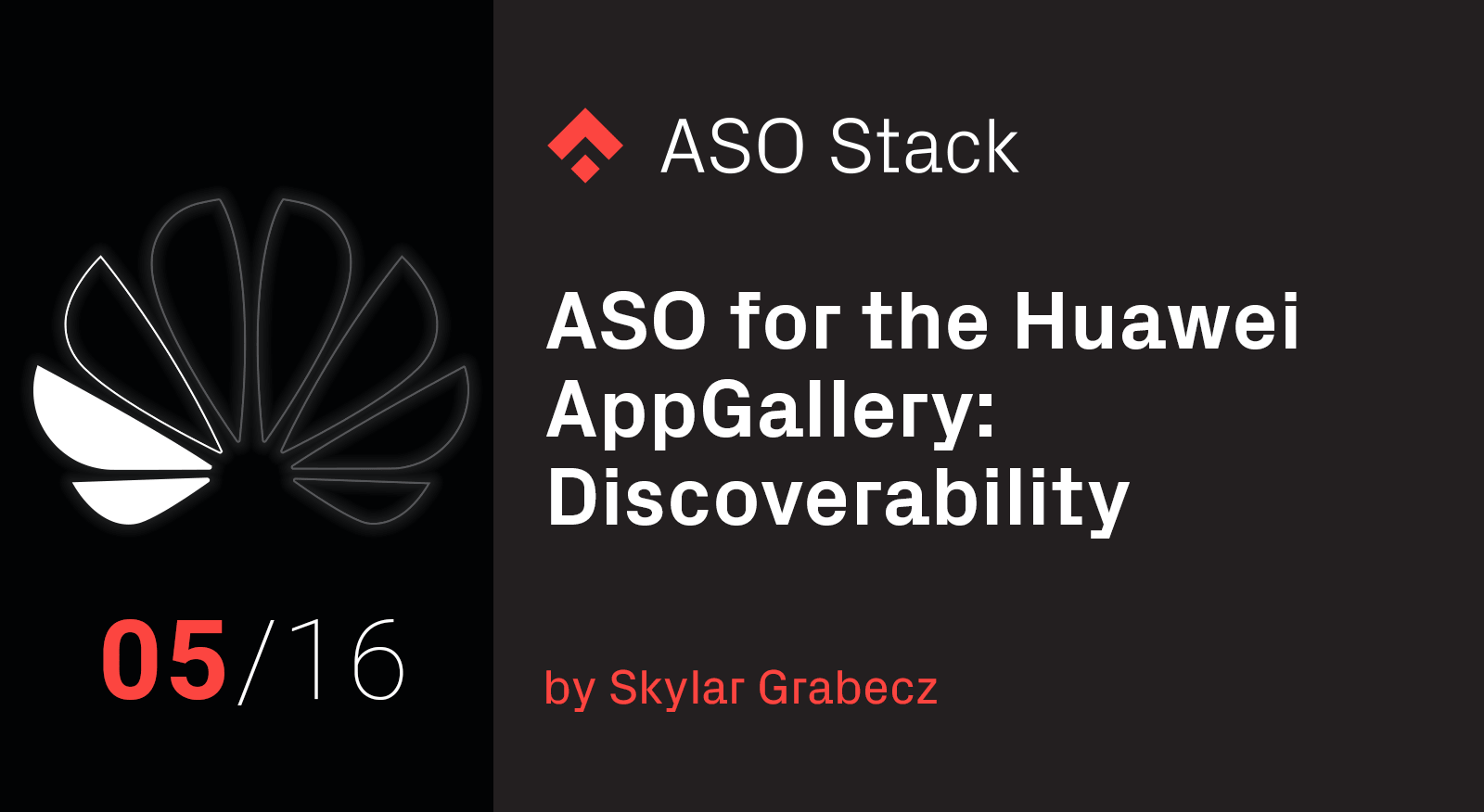 ASO for the Huawei AppGallery- Discoverability