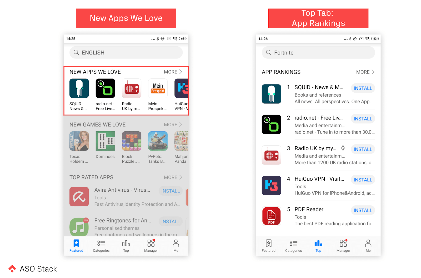 new apps we love and top tab app rankings