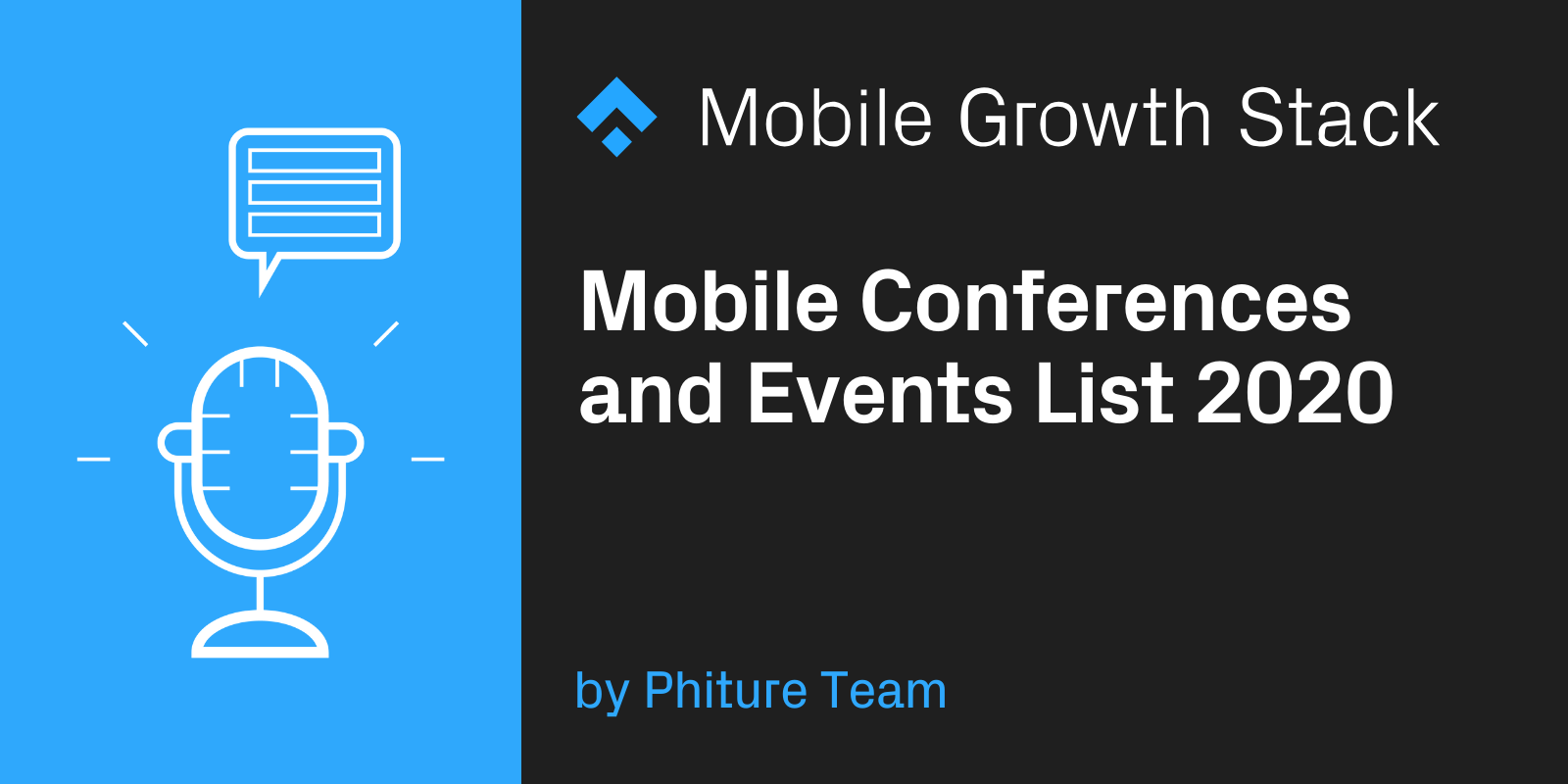 Mobile Conferences and Events List 2020