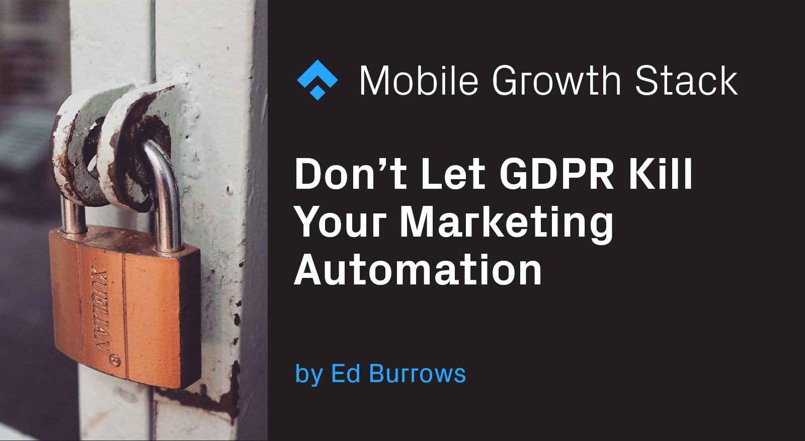 Don't Let GDPR Kill Your Marketing Automation