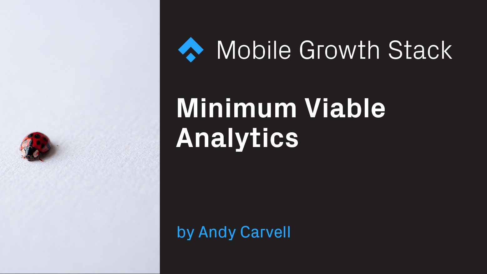 Minimum Viable Analytics