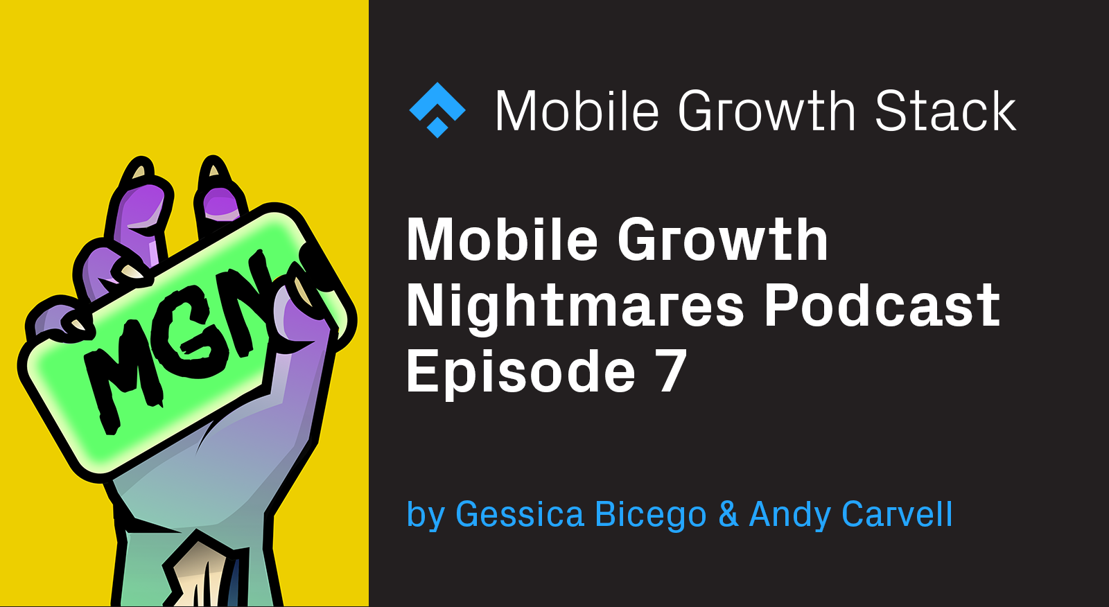 Mobile Growth Nightmares Episode 7 — Live recording at APS with Lenette Yap from Wargaming and Jacques Frisch from Glovo.