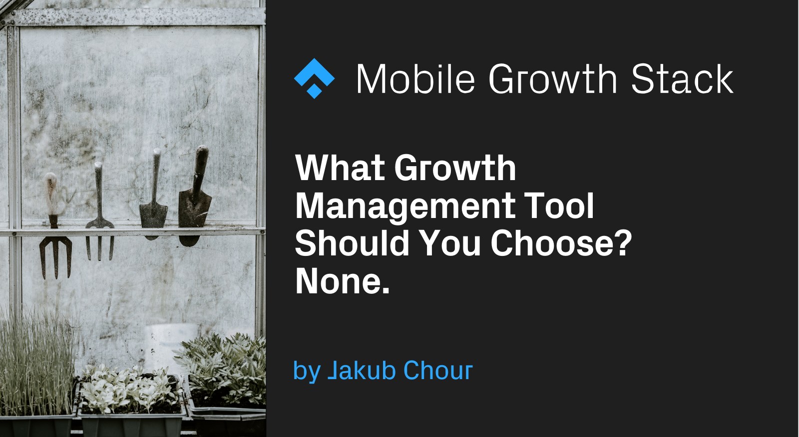 What Growth Management Tool Should You Choose? None.