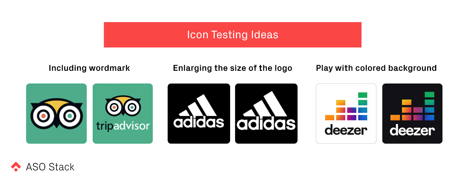 icon testing ideas