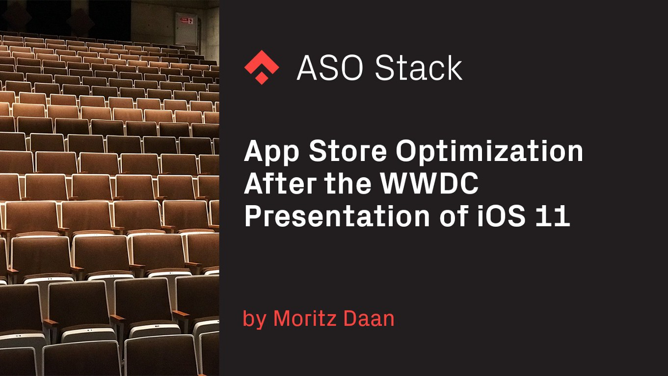 App Store Optimization After the WWDC Presentation of iOS 11