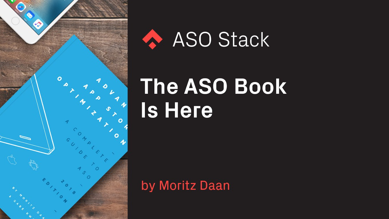 The ASO Book Is Here