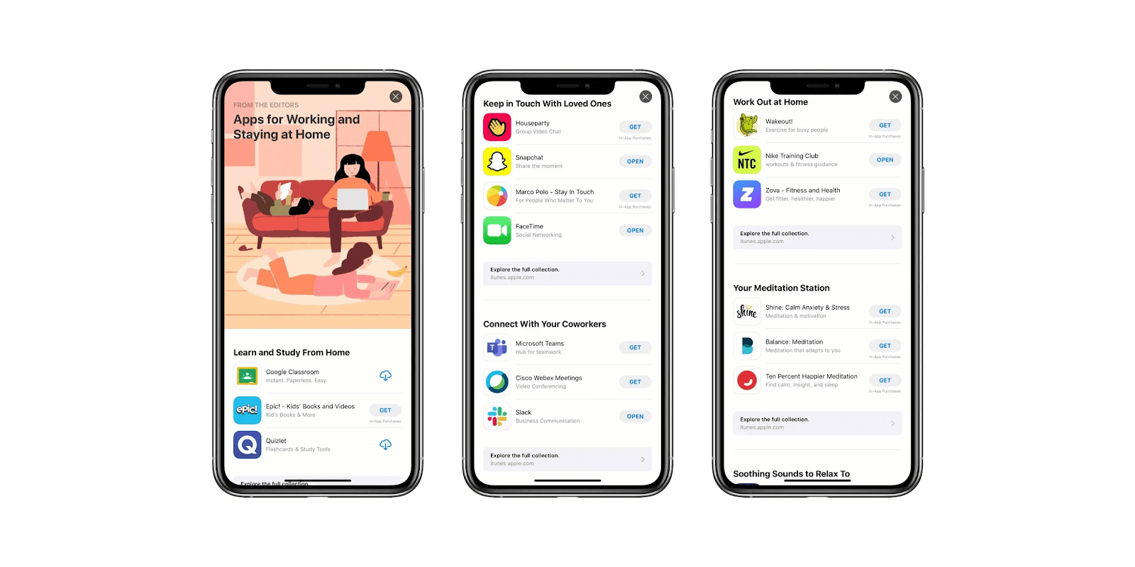 an app store editorial story
