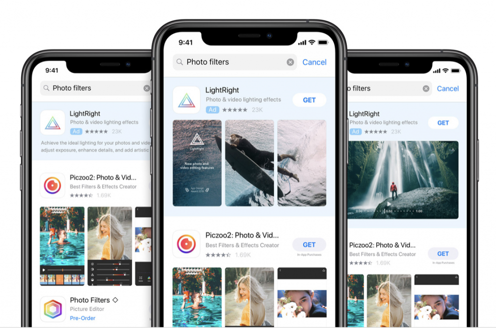 LightRight Ad on App Store