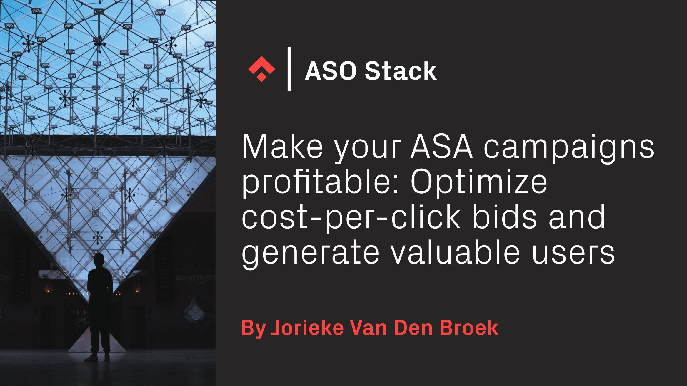 make your ASA campaigns profitable