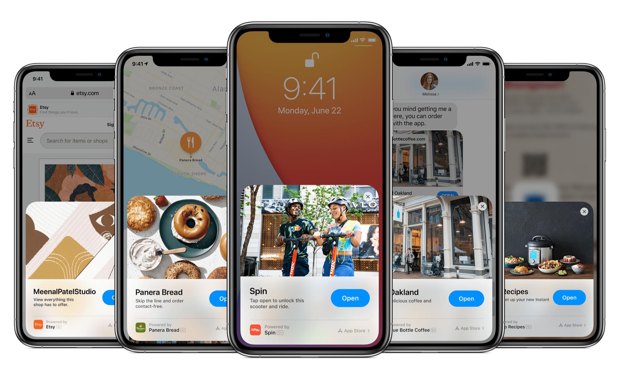 app clips on app store