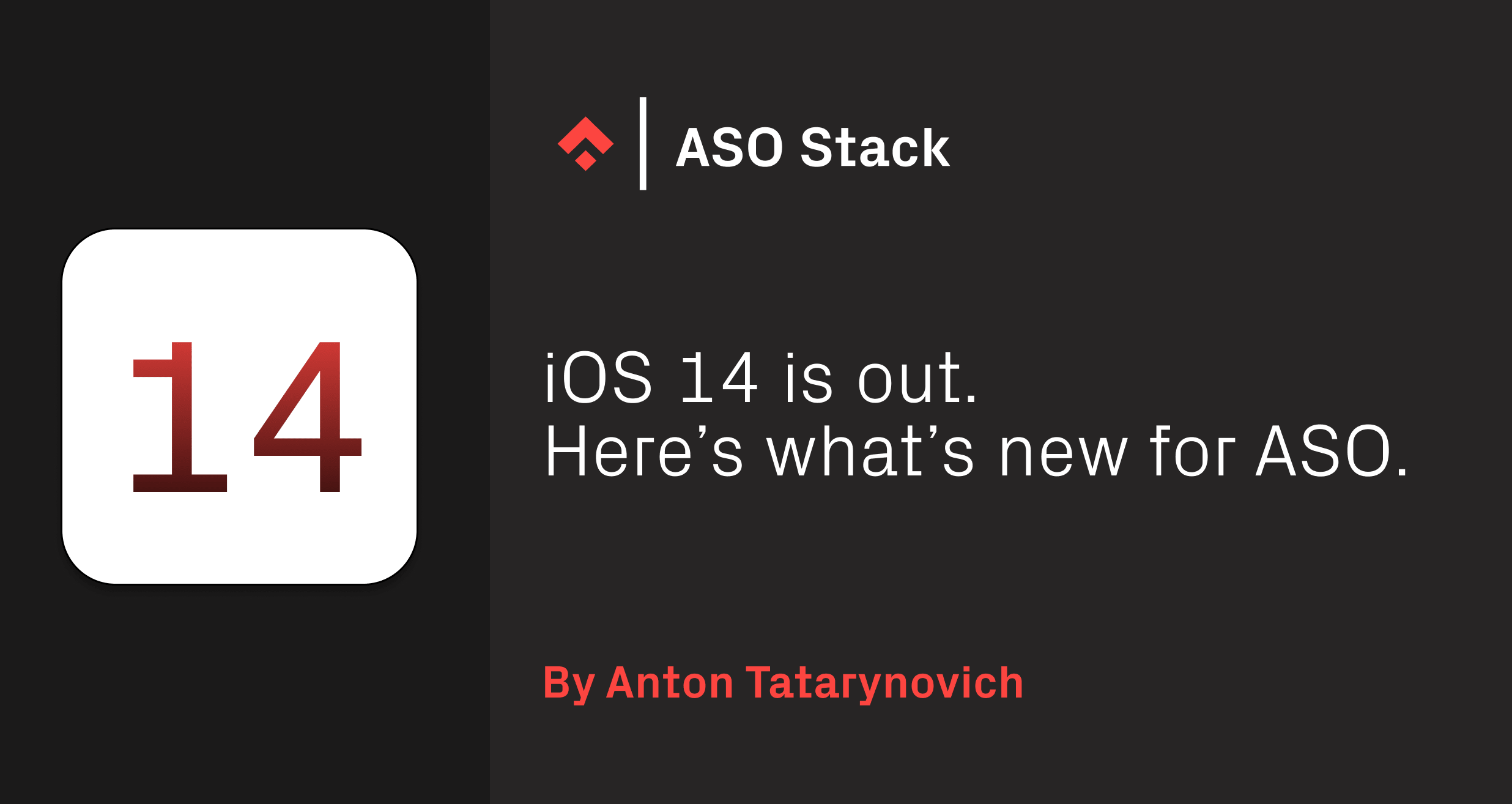 iOS 14 Is Out. Here's What's New for ASO