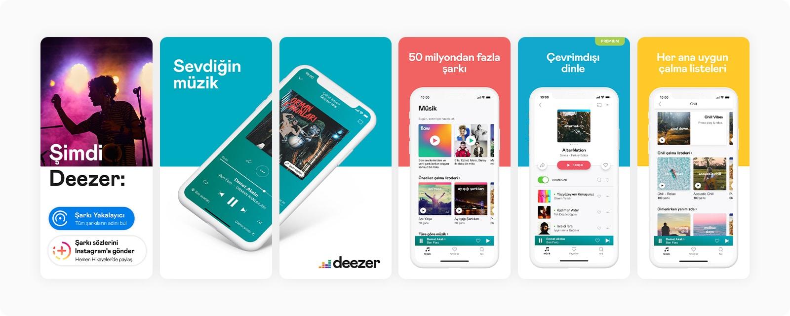 deezer screenshots