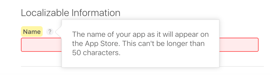 Did you know that the title in the App Store used to have a limit of 255 characters?
