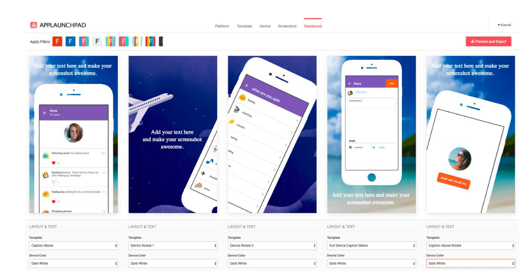 Screenshot: AppLaunchpad