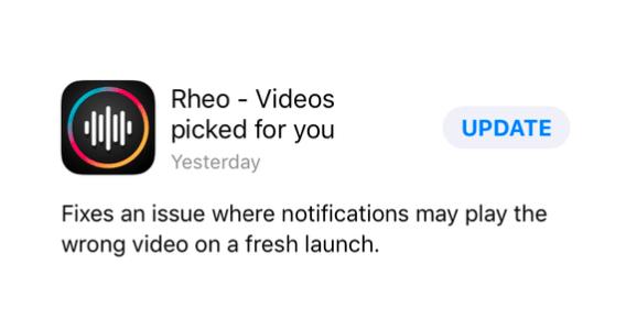rheo screenshot