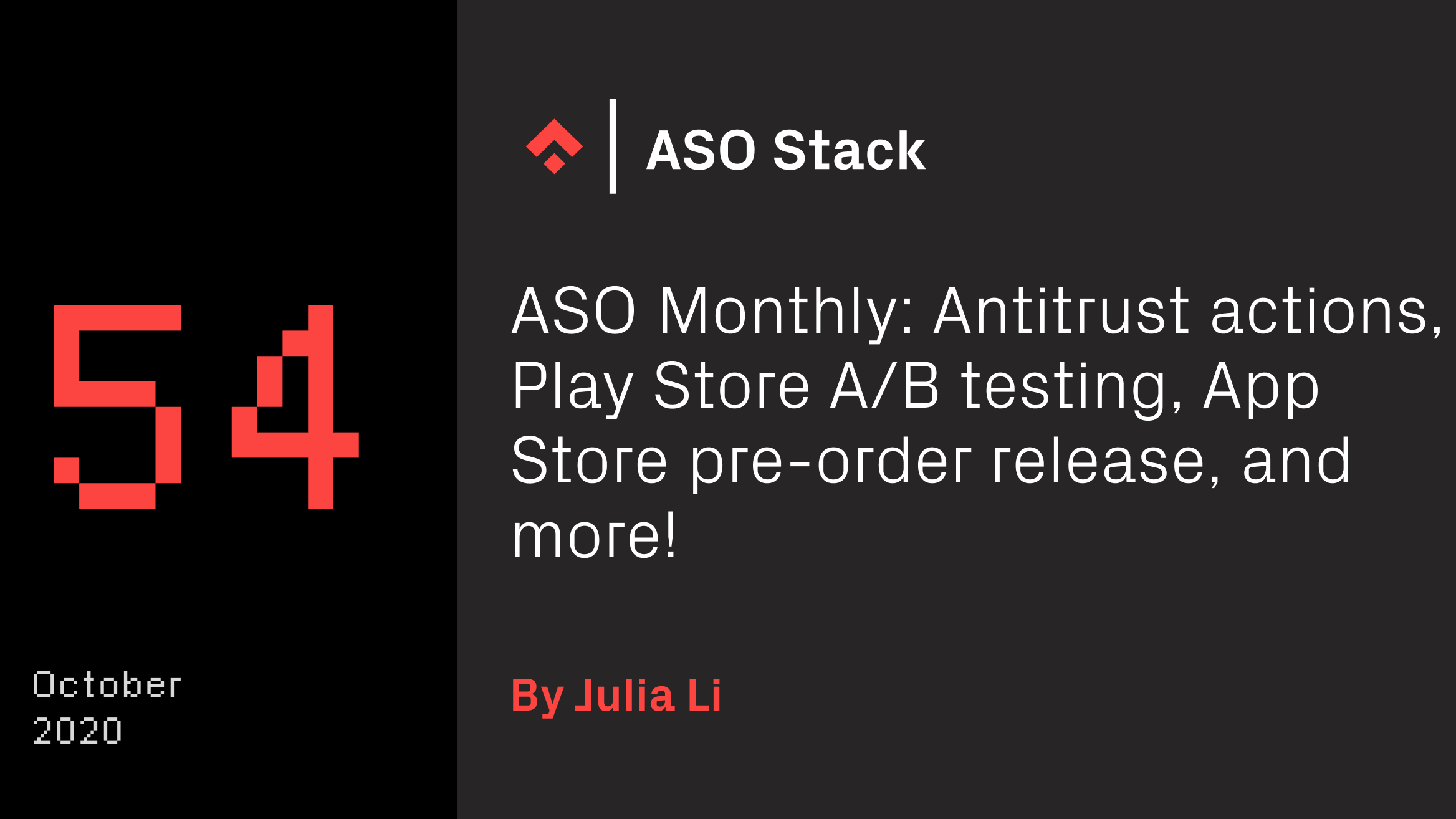 aso monthly 54 aso stack
