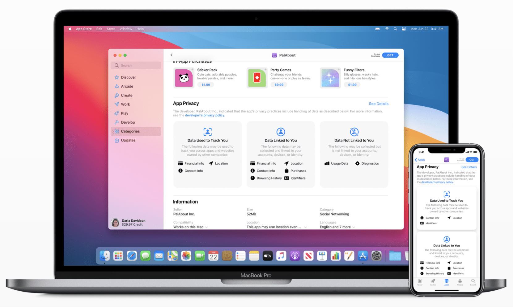 Apple privacy details