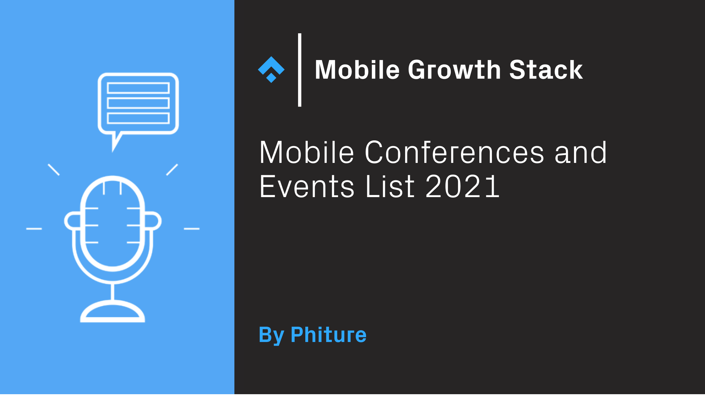 mobile conference and events list 2021