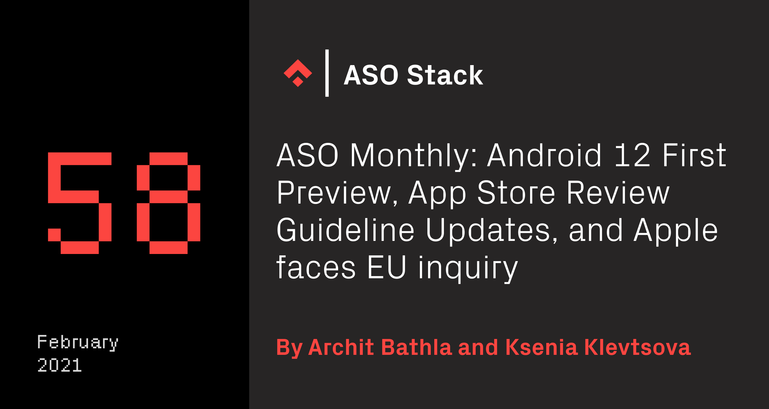 aso monthly 58