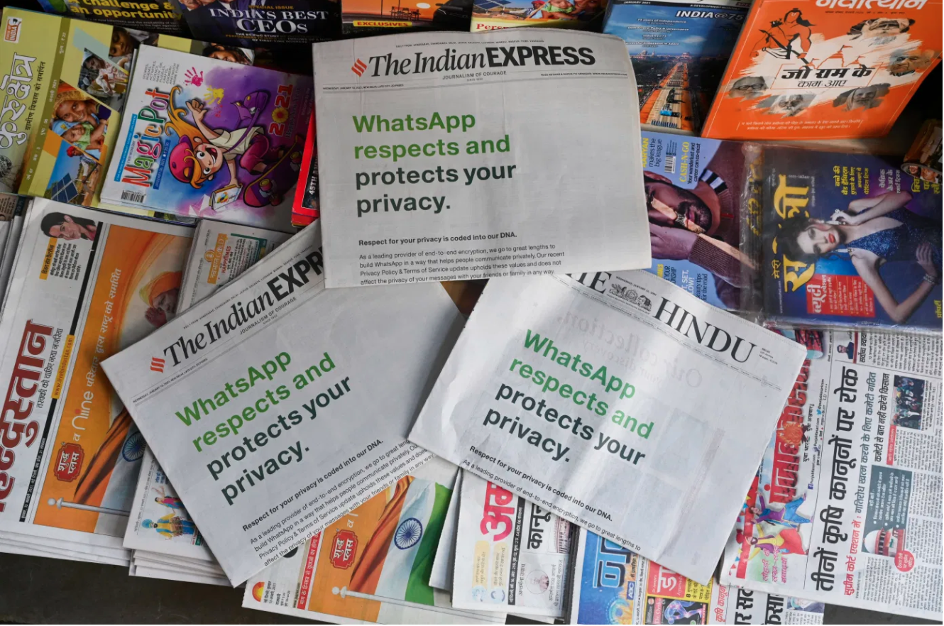 whatsap respects and protects your privacy