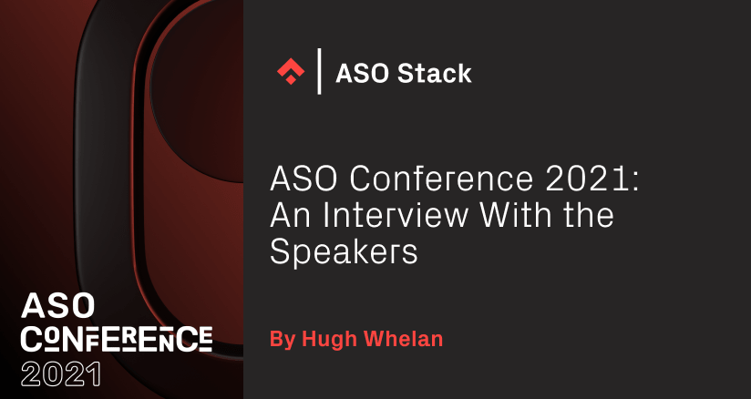 ASO Conference 2021 Interview With Speakers