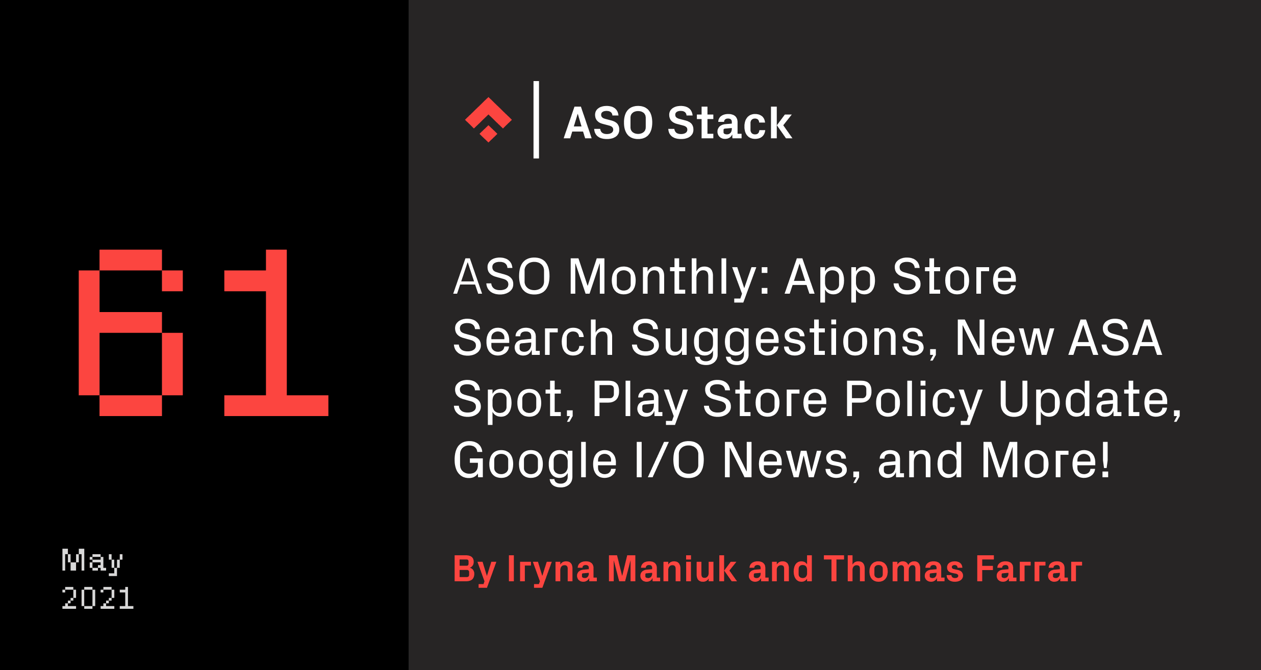 ASO Monthly 61