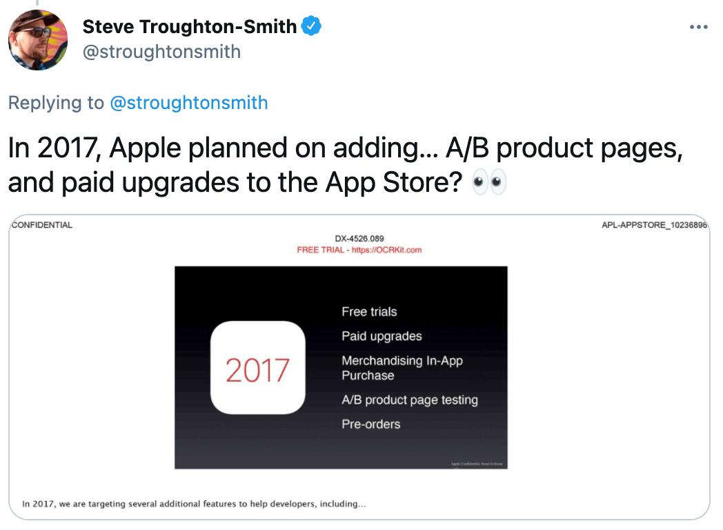 apple tweet