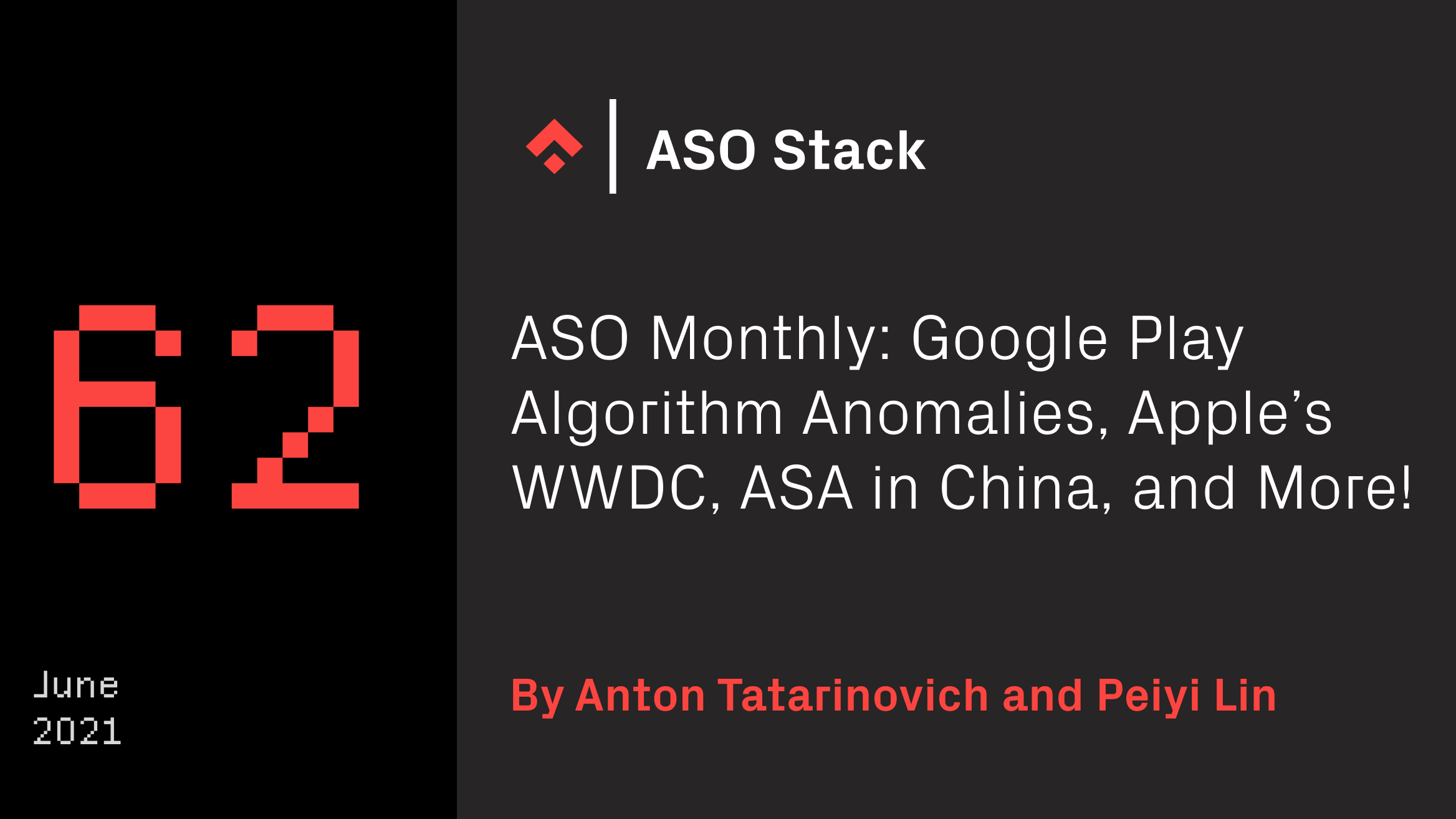 aso monthly june 2021
